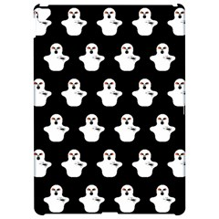 Funny Halloween   Ghost Pattern Apple Ipad Pro 12 9   Hardshell Case by MoreColorsinLife