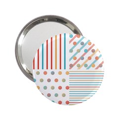 Simple Saturated Pattern 2 25  Handbag Mirrors by linceazul