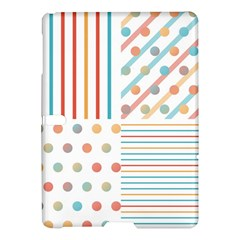 Simple Saturated Pattern Samsung Galaxy Tab S (10 5 ) Hardshell Case  by linceazul