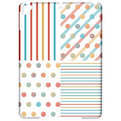 Simple Saturated Pattern Apple Ipad Pro 9 7   Hardshell Case by linceazul