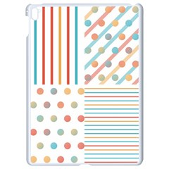 Simple Saturated Pattern Apple Ipad Pro 9 7   White Seamless Case by linceazul