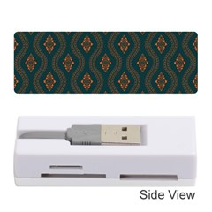 Ornamental Pattern Background Memory Card Reader (stick)