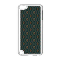 Ornamental Pattern Background Apple Ipod Touch 5 Case (white) by TastefulDesigns