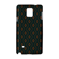 Ornamental Pattern Background Samsung Galaxy Note 4 Hardshell Case