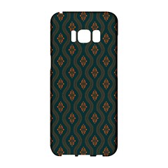 Ornamental Pattern Background Samsung Galaxy S8 Hardshell Case