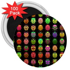 Beetles Insects Bugs 3  Magnets (100 Pack) by BangZart
