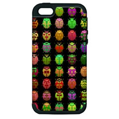 Beetles Insects Bugs Apple Iphone 5 Hardshell Case (pc+silicone)