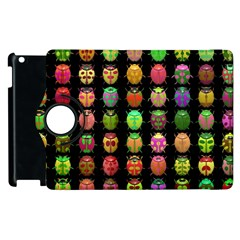 Beetles Insects Bugs Apple Ipad 3/4 Flip 360 Case by BangZart