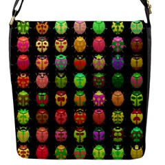 Beetles Insects Bugs Flap Messenger Bag (s) by BangZart