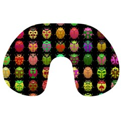 Beetles Insects Bugs Travel Neck Pillows
