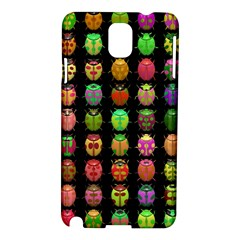Beetles Insects Bugs Samsung Galaxy Note 3 N9005 Hardshell Case by BangZart