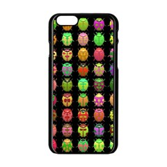 Beetles Insects Bugs Apple Iphone 6/6s Black Enamel Case