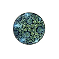Blue Lotus Hat Clip Ball Marker by BangZart