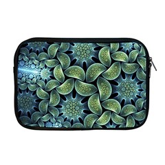 Blue Lotus Apple Macbook Pro 17  Zipper Case