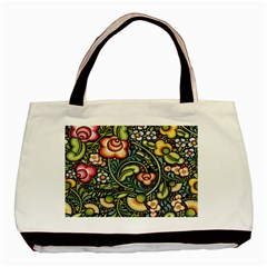 Bohemia Floral Pattern Basic Tote Bag (two Sides) by BangZart