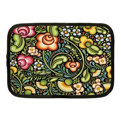 Bohemia Floral Pattern Netbook Case (medium)