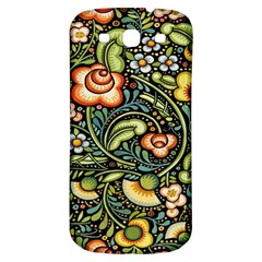 Bohemia Floral Pattern Samsung Galaxy S3 S Iii Classic Hardshell Back Case by BangZart