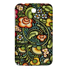 Bohemia Floral Pattern Samsung Galaxy Tab 3 (7 ) P3200 Hardshell Case  by BangZart
