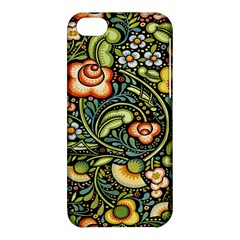 Bohemia Floral Pattern Apple Iphone 5c Hardshell Case by BangZart