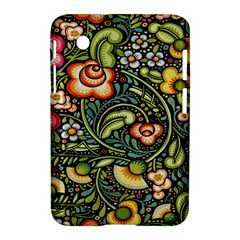 Bohemia Floral Pattern Samsung Galaxy Tab 2 (7 ) P3100 Hardshell Case  by BangZart