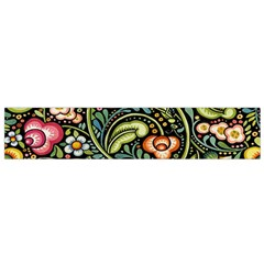 Bohemia Floral Pattern Flano Scarf (small) by BangZart