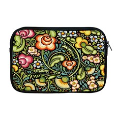 Bohemia Floral Pattern Apple Macbook Pro 17  Zipper Case by BangZart