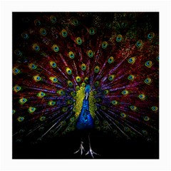 Beautiful Peacock Feather Medium Glasses Cloth by BangZart