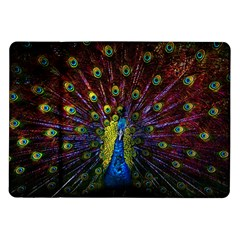 Beautiful Peacock Feather Samsung Galaxy Tab 10 1  P7500 Flip Case by BangZart