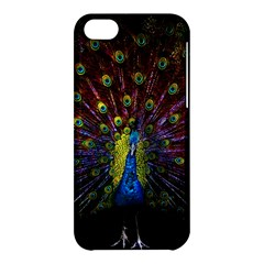 Beautiful Peacock Feather Apple Iphone 5c Hardshell Case by BangZart