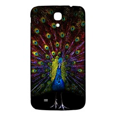 Beautiful Peacock Feather Samsung Galaxy Mega I9200 Hardshell Back Case by BangZart