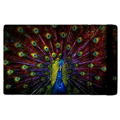 Beautiful Peacock Feather Apple Ipad Pro 9 7   Flip Case by BangZart