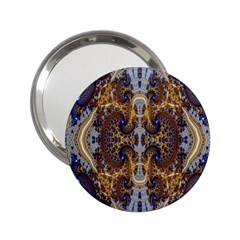 Baroque Fractal Pattern 2 25  Handbag Mirrors