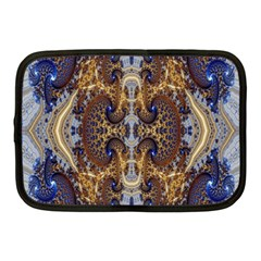 Baroque Fractal Pattern Netbook Case (medium)  by BangZart