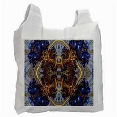 Baroque Fractal Pattern Recycle Bag (one Side)