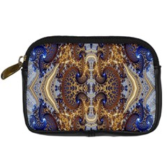 Baroque Fractal Pattern Digital Camera Cases by BangZart