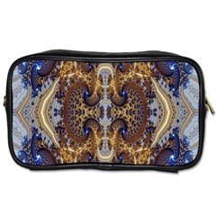 Baroque Fractal Pattern Toiletries Bags 2 Side by BangZart