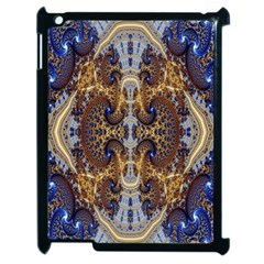 Baroque Fractal Pattern Apple Ipad 2 Case (black) by BangZart