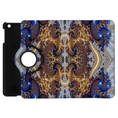 Baroque Fractal Pattern Apple Ipad Mini Flip 360 Case by BangZart