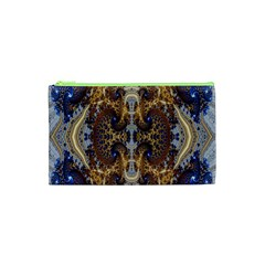 Baroque Fractal Pattern Cosmetic Bag (xs) by BangZart