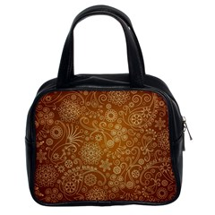 Batik Art Pattern Classic Handbags (2 Sides)