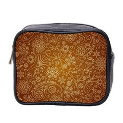 Batik Art Pattern Mini Toiletries Bag 2 Side by BangZart
