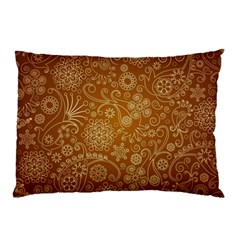 Batik Art Pattern Pillow Case (two Sides) by BangZart