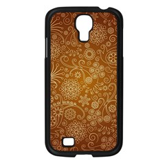 Batik Art Pattern Samsung Galaxy S4 I9500/ I9505 Case (black) by BangZart