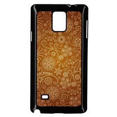 Batik Art Pattern Samsung Galaxy Note 4 Case (black)