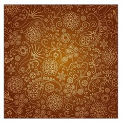 Batik Art Pattern Large Satin Scarf (square) by BangZart