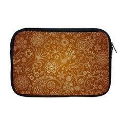Batik Art Pattern Apple Macbook Pro 17  Zipper Case by BangZart