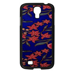 Batik  Fabric Samsung Galaxy S4 I9500/ I9505 Case (black) by BangZart