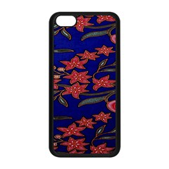 Batik  Fabric Apple Iphone 5c Seamless Case (black)