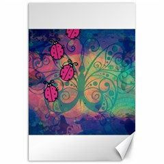 Background Colorful Bugs Canvas 20  X 30   by BangZart