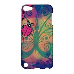 Background Colorful Bugs Apple Ipod Touch 5 Hardshell Case